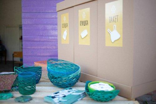 В Чернигове заработала первая мастерская по переработке пластика. Фото и видео