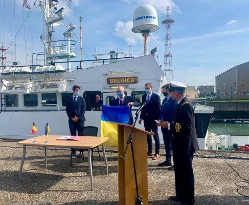 Україна отримала від Бельгії судно для екомоніторингу Чорного й Азовського морів. Фото