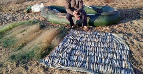 На Одещині впіймали браконьєра на вилові риби в національному парку
