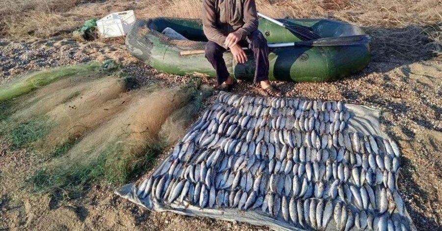 В Одесской области поймали браконьера на вылове рыбы в национальном парке