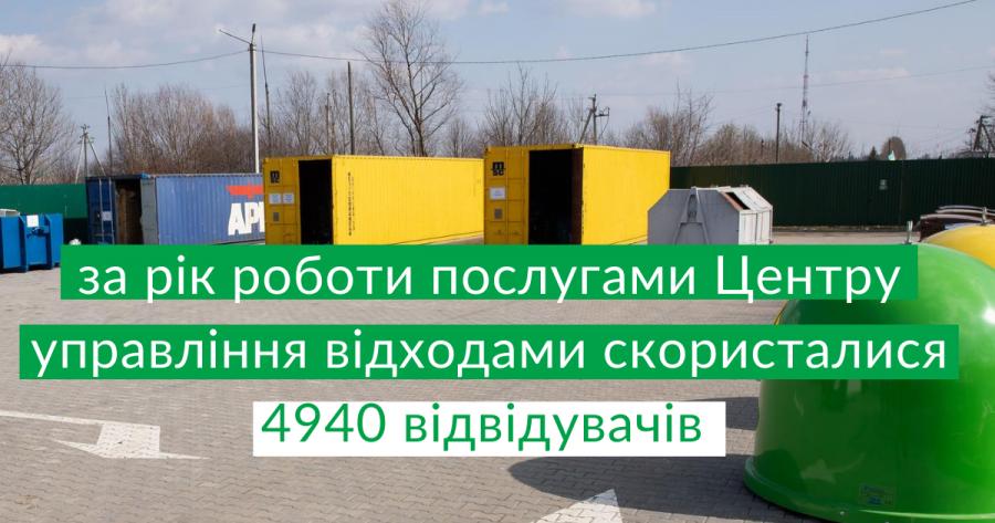 Жители Хмельницкого за год принесли на утилизацию более 70 тонн отходов