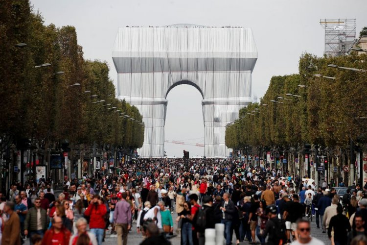 День без автомобиля в Париже: шума и грязи меньше