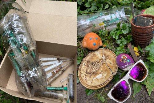 В Киеве активисты самостоятельно убрали ботанический сад Фомина. Фото