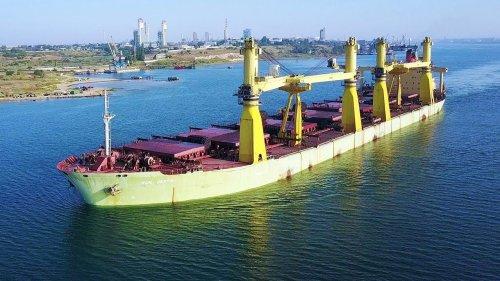 """У порту """"Південний"""" оштрафували іноземне судно, яке зливало фекальні води"""