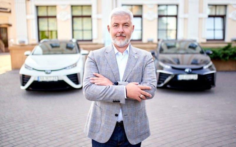 Первые водородные автомобили уже зарегистрированы в Украине