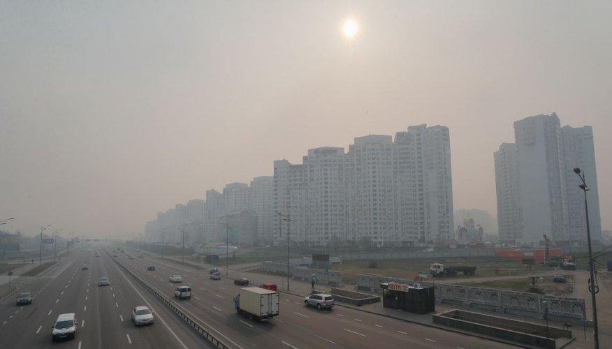 Киев снова оказался в топе городов с самым грязным воздухом в мире